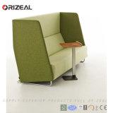 Sofá de recepção traseira Orizeal para reuniões ocasionais privadas (OZ-OSF020)