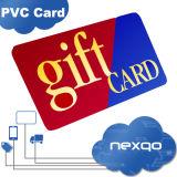 저가 Hico 로코병 자석 줄무늬 서리로 덥은 완료 PVC 플라스틱 선물 카드