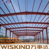 Vertiente de la estructura de acero de la granja avícola del bajo costo del diseño de Morden de la construcción
