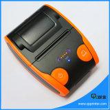 De draadloze Androïde Handbediende Ruwe Printer van het Ontvangstbewijs met Bluetooth en USB