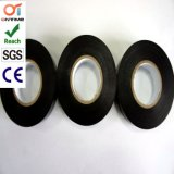 De zwarte Plakband van pvc voor Elektro Goedgekeurde Bescherming met RoHS (19mm*20m)