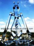Handcrafted unbesonnener kleiner eindeutiger Ölplattform-Glastrinkwasserbrunnen-rauchendes Wasser-Glasrohr