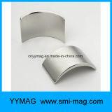 曲げられた磁石のネオジムセグメント磁石アークの磁石