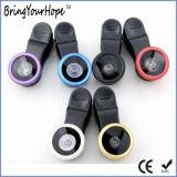 De zwarte Lens van de Camera van de Telefoon van de Lens Fisheye 3in1 (xh-LF-001)