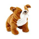 プラシ天犬のカスタムプラシ天のおもちゃ