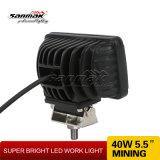 """40W 5.5 """"를 위한 IP68 LED 일 빛"""