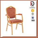 アルミニウム宴会アーム椅子のブロムA075