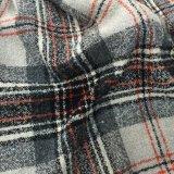 Подготавливайте/красный цвет, серый цвет & белизна ткани шерстей проверки штока классические