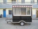 Straßen-mobile mini Schnellimbiss-Karren mit Farbton-Fenster (SHJ-MFS250)