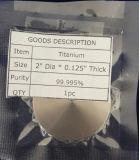 99.995% Reinheit-Titanspritzenziel
