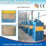 Máquina hidráulica de la prensa de la hierba, prensa vertical de la paja, máquina de embalaje del heno