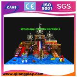 Equipamento interno do campo de jogos do tema do navio de pirata de 2015 crianças