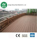 Revestimento antiderrapante material do verde de madeira WPC da grão