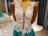 Robes 2017 de soirée neuves de fleur de l'assemblage 3D d'arrivée