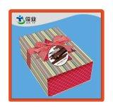 Crear el rectángulo de papel de empaquetado del regalo para requisitos particulares para los palillos del chocolate