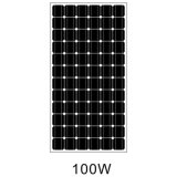 El panel solar de Hc de las células de la energía solar 72 para el uso casero hecho en China