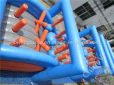 Nuevo curso de obstáculo inflable gigante 5k para adultos