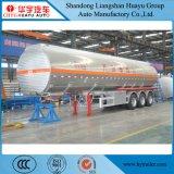 2/3 en acier inoxydable de l'essieu/citerne en alliage en aluminium/camion citerne semi-remorque pour l'huile/carburant/diesel/essence//eau/lait brut Transports