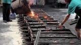 O bronze da liga de alumínio morre a carcaça de areia para a luz de rua