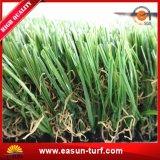 Ajardinar césped falso al aire libre artificial de la hierba