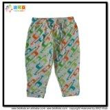 Pantaloni organici del bambino del cotone di formato di usura su ordinazione del bambino