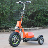 500W 3 바퀴 불리한을%s 전기 기관자전차 허브 모터 기동성 스쿠터