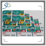 Documento de amostra grátis Custom Prepaid Scratch Card com 3in1 / 4in1 / 5in1
