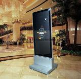 Floor Stand LED Light Box com rodas para propaganda comercial