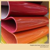 Material do saco de couro de sapata de China Rexine