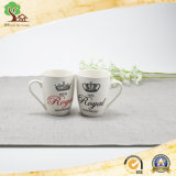 Tazze di ceramica della tazza dell'amante del regalo di cerimonia nuziale per la tazza del latte di uso della famiglia