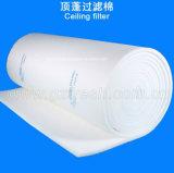 Media de filtro sintetizados del techo de la cabina de aerosol