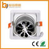 Quadratische Aluminiumdes shell PFEILER Licht-15W Punkt-Lampe der Deckenleuchte-85-265V LED