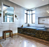 Marmo di marmo bianco del granito del grano di legno
