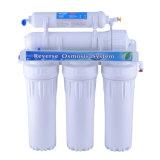 5 Stadiums-inländisches umgekehrte Osmose-Wasser-Filter-System ohne Pumpe
