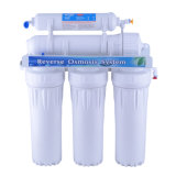 Sistema doméstico del filtro de agua de la ósmosis reversa de 5 etapas sin la bomba