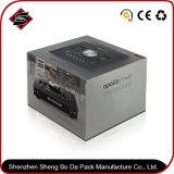 Comercio al por mayor sola junta gris Papel de regalo Caja de embalaje