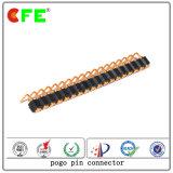 Rechtwinkliger kupferner Sprung-Kontaktpin-Verbinder für elektronisches