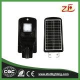 Tipo de colores LED 20W Luz solar calle