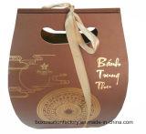 Sacchetto di carta cosmetico del regalo con le maniglie della corda/fornitore di carta dei sacchetti di acquisto