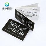 Cartão postal de impressão personalizado