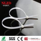 Tamanhos de nylon reusáveis de China das cintas plásticas das amostras livres os laços de fio plásticos reusáveis dos multi vendem por atacado