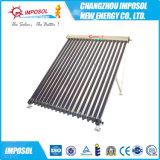 Calentador de agua solar del amortiguador azul de alta presión