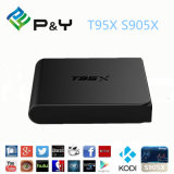 2016 Android TV Box T95X S905X 1g / 8g Kodi 16.0 Mate 4k Set-Top Box Caixa de TV inteligente Smart Android Tvbox