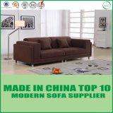 Sofà di legno del tessuto di svago della mobilia