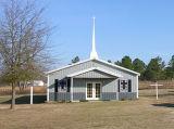 Prefab/pré-fabricou edifícios de igreja da construção de aço com material do metal