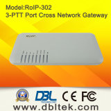RoIP Cross Network Gateway entre VoIP Radio GSM (RoIP302)
