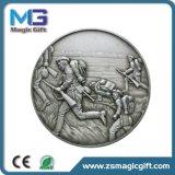 Горячие сбывания подгоняли серебряную медаль сувенира античную