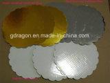 De golf Stevige Witte Cirkel van de Cake/van de Pizza (GD-PL1005)