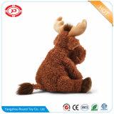 Peluche moelleux Custom Moose Xmas Rennes animal en peluche Jouet souple