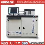 Ce/FDA/SGS 새로운 채널 편지는 자동적인 알루미늄 장 구부리는 기계를 서명한다